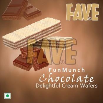 Fun Munch Chocolate Cream Wafers