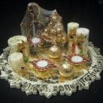Candle Hamper