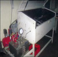 High Pressure Hose Testing Bench