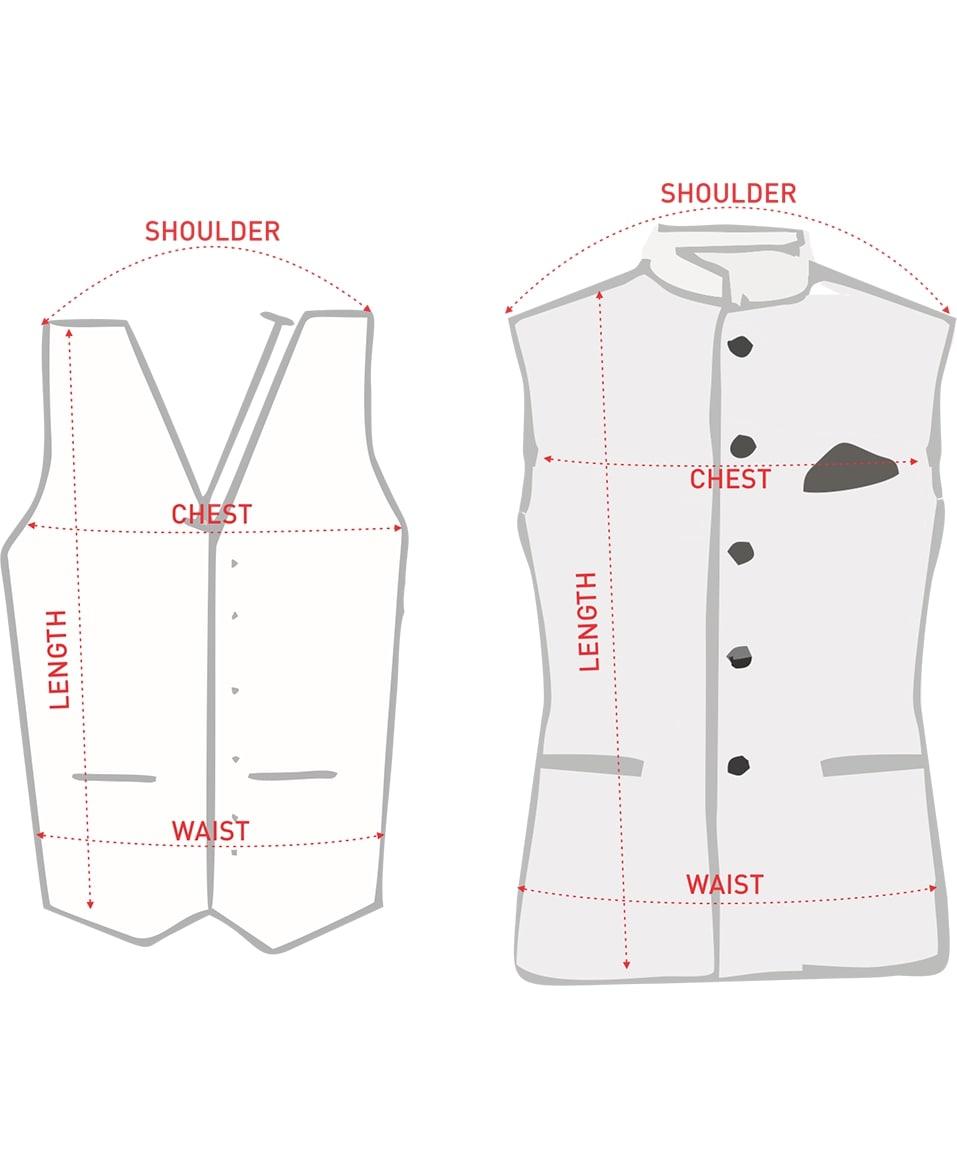 Waist Coat/Nehru Jacket