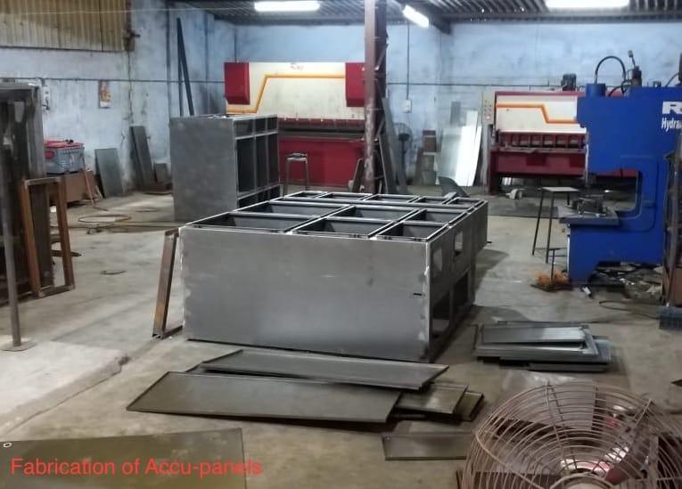 Cutiing and Bemding Machine 7-Tank Powder Coating