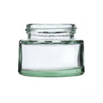 Cream Glass Jars