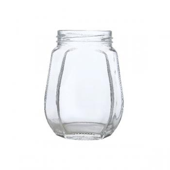 Crown Glass Jars
