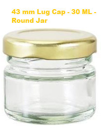 Lug Glass Jars