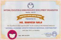 National Education and Human Resource Development Organization Certificate