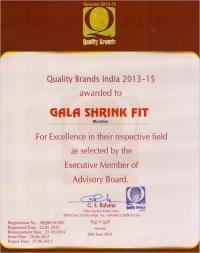 Quality Brand Certificate