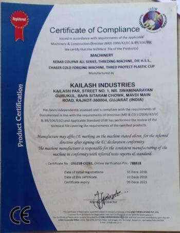 Compilance Certificate