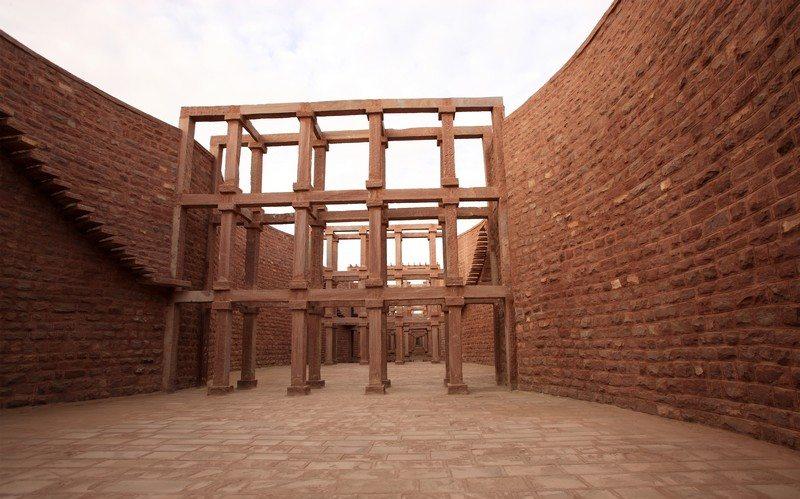 Architecture Wall Sandstone