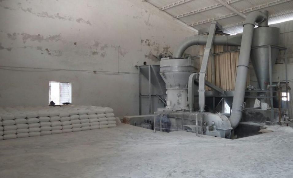 China Clay Processing