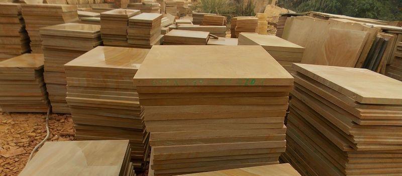 Jaisalmer Yellow Stone Raw Slabs