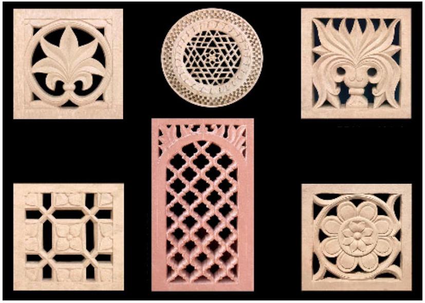 Jodhpur Sandstone Artistic Jali Design Work