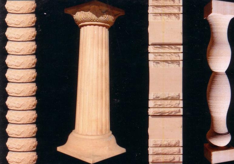 Jodhpur Sandstone Pillars