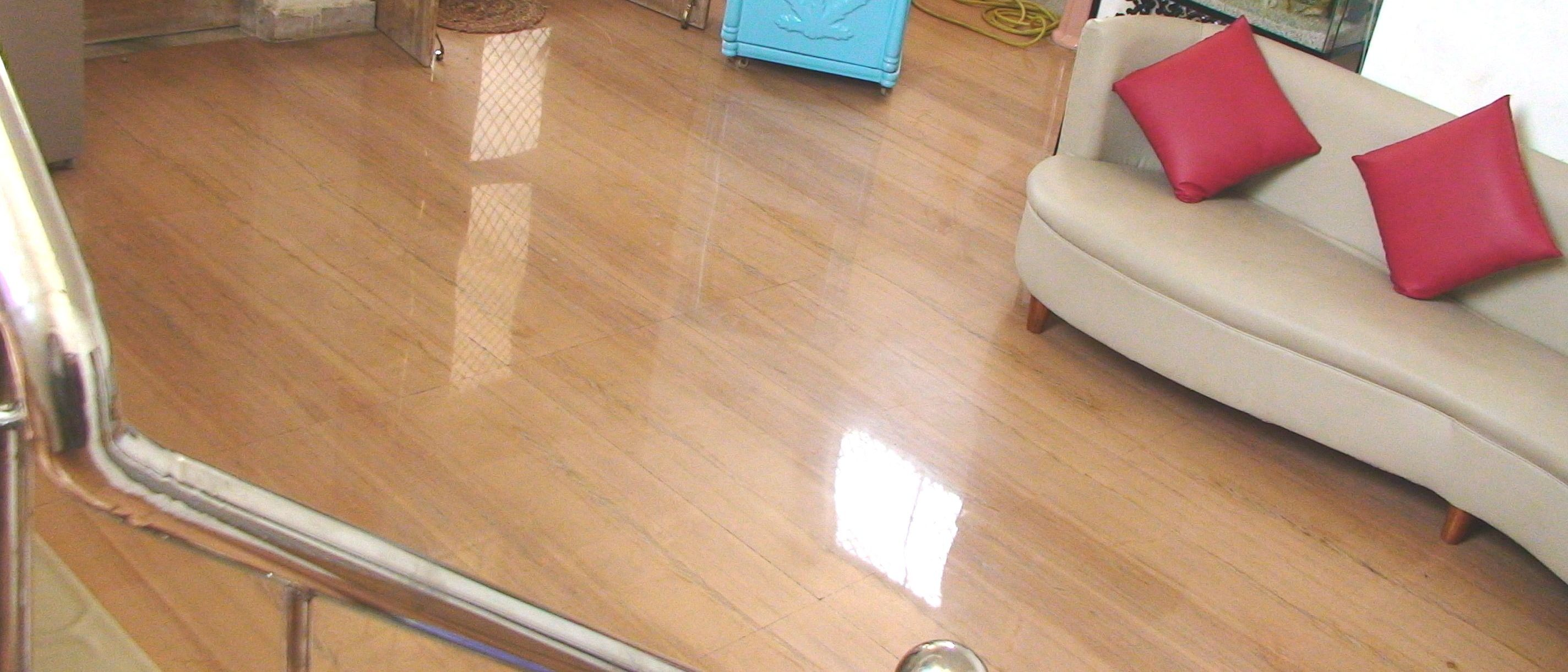 Polished Jodhpuri Sandstone Floor