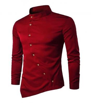 Mens Maroon Shirt