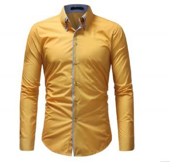 Mens Yellow Shirt