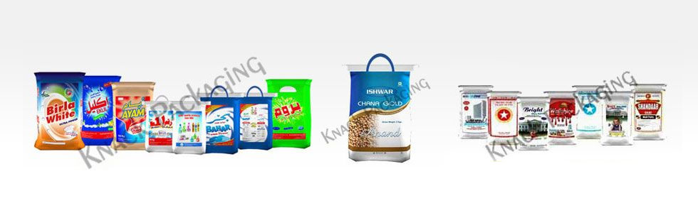 Wheat Packaging Bags Plastic Flour Manufacturers