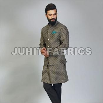 Mens Kurta Jacket Set
