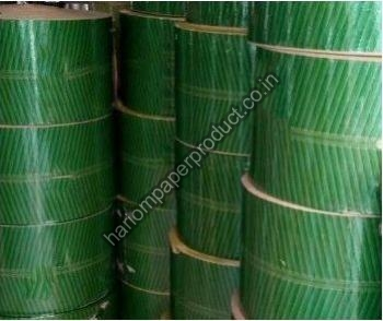 Green Coated Paper