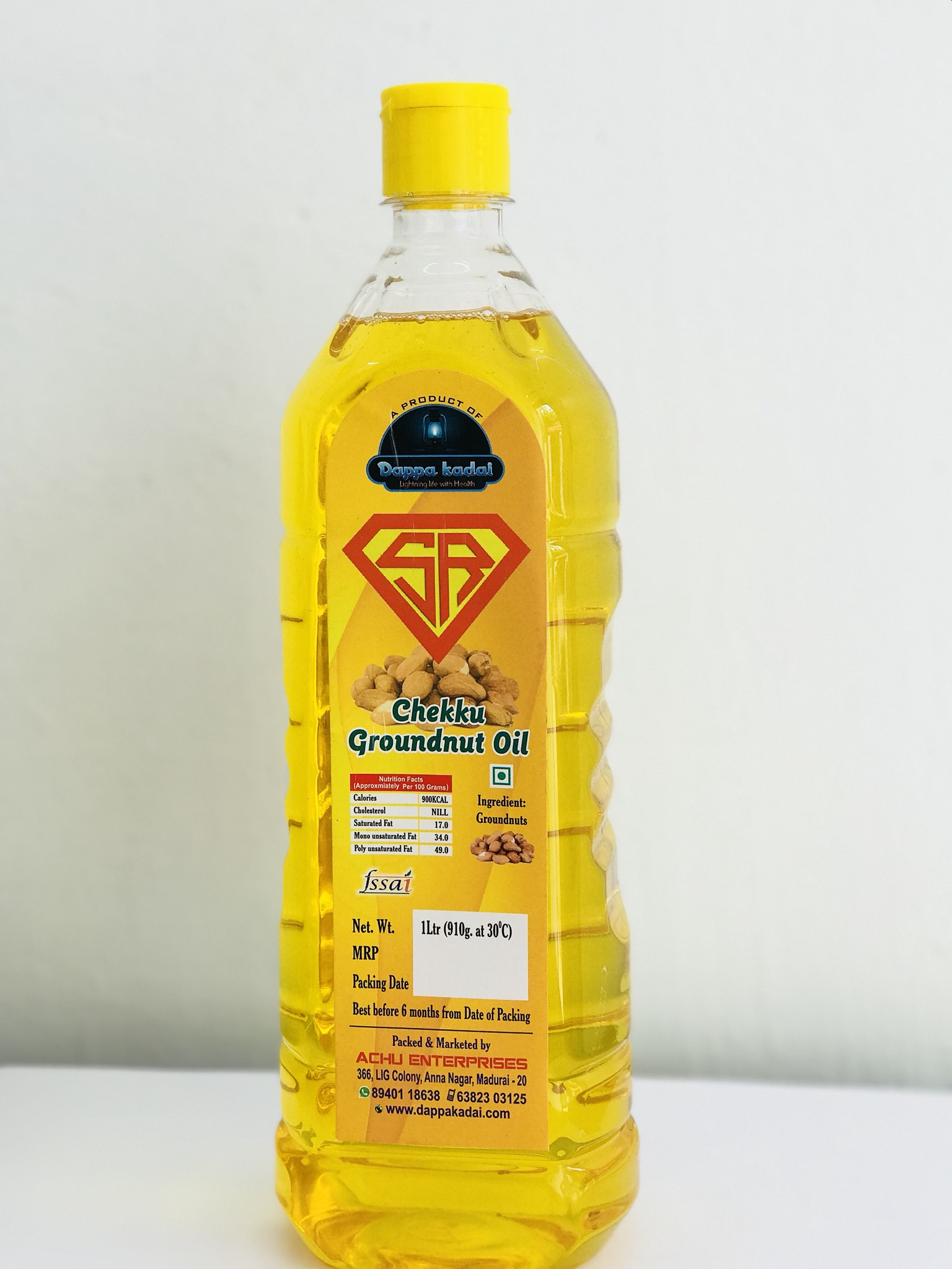 Chekku Groundnut Oil