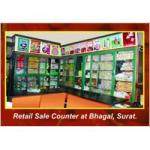Retails Sale Counter at Bhagal, Surat
