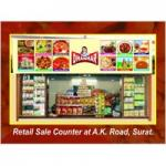Retails Sale Counter at A.K Road, Surat