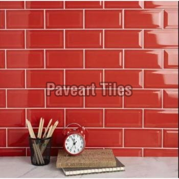 Blood Red Wall Tiles