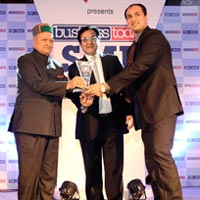 Certificate of  Star - Sme-business Today Yes Bank Awards-2012