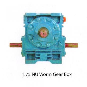 NU Worm Gearbox
