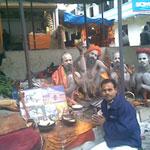 Sadhus in Kedarnath