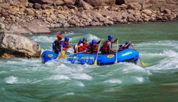 White Water Rafting At River Teesta