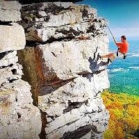 Rappelling & Rock Climbing