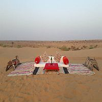 Corporate Event Party in Desert