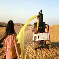 Film Shooting In Desert