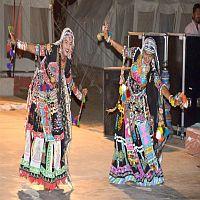 Rajasthani Folk Dance Program in Resort