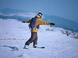 Snowboarding in Gulmarg