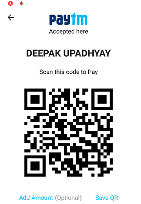 Pay With PayTm