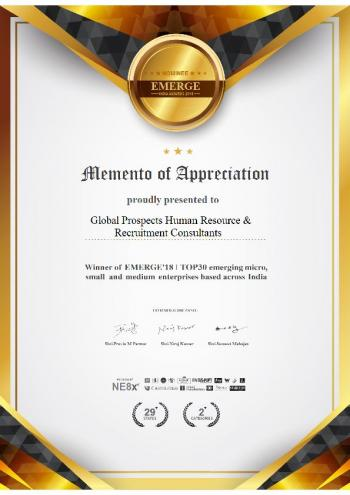 Memento of Appreciation