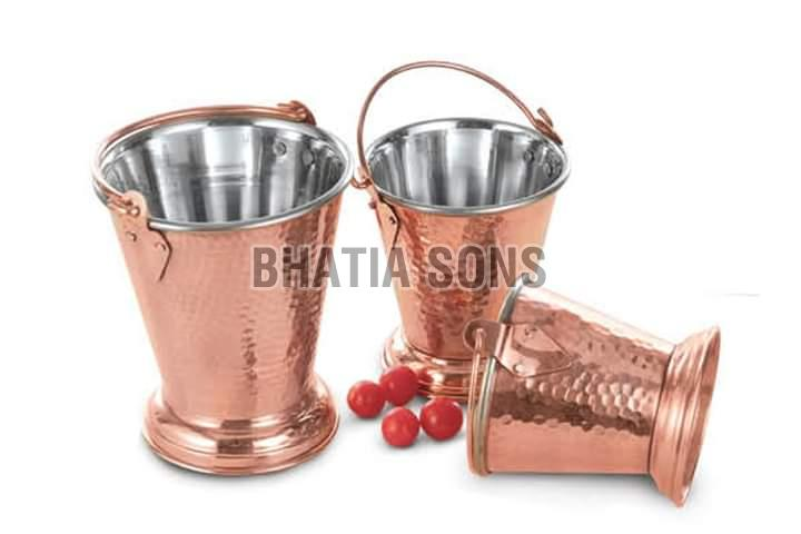 The Sophisticated Steel Copper Buckets