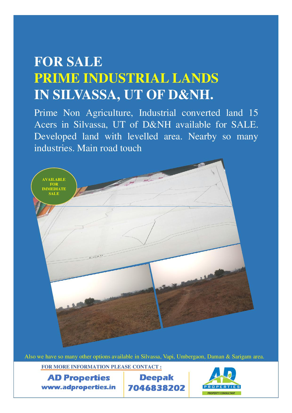 Industrial NA Plot for SALE at Silvassa