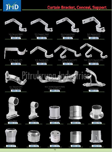 Wide varieties that Curtain Bracket Manufacturers offer
