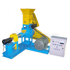 Get various types of animal feed from extruder machines