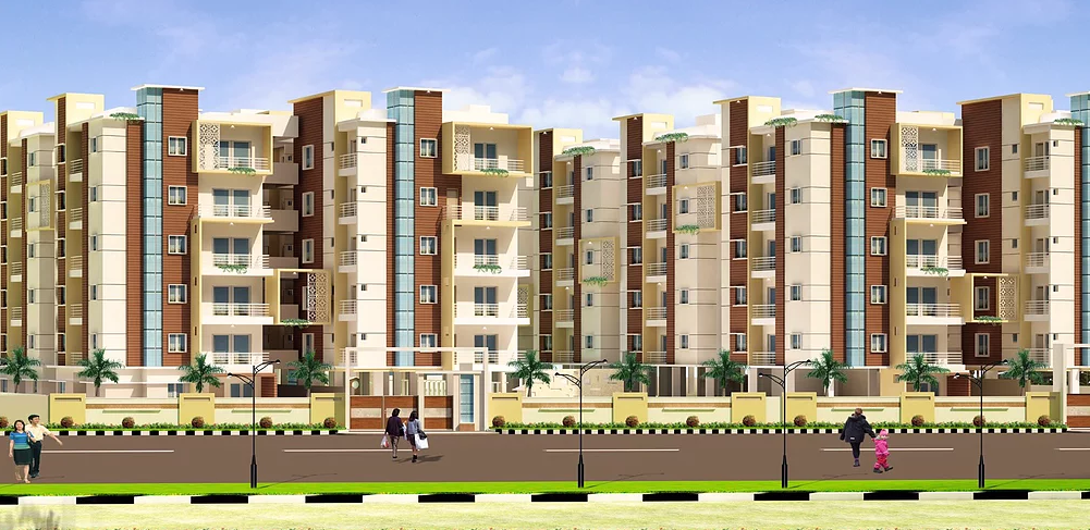 Luxurious 3 bhk Apartment flats