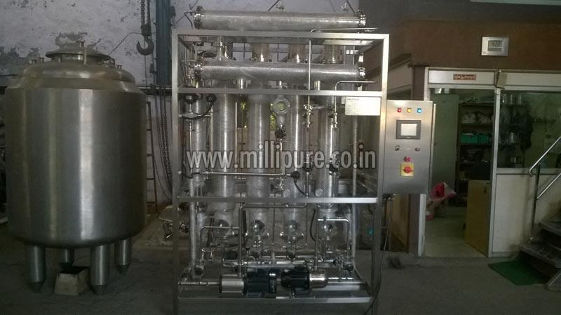 How the Multi Column Distillation Plant functions?