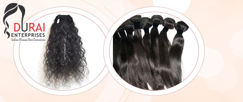 Why should you buy Raw Unprocessed Hair Extensions from reputed Exporter in Tamil Nadu?